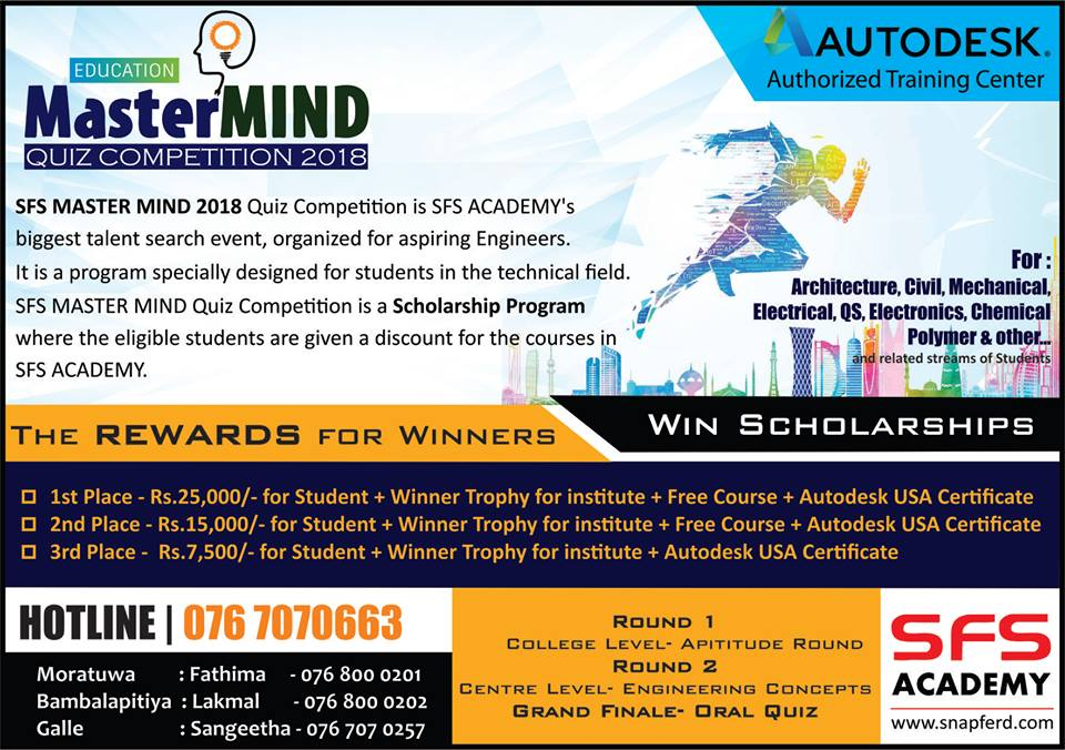 Master MIND quiz competition